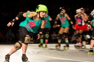 The amazing Penergy of Canberra Roller Derby League.